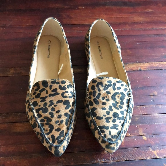 12649aa05bfe Time and Tru Shoes | Leopard Print Flats | Poshmark